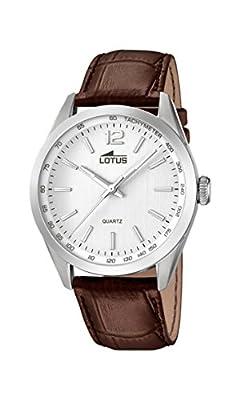Lotus 18149/1 - Reloj de pulsera hombre, Cuero, color Marrón de Lotus