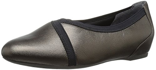 Rockport Envelope Large Cuir Ballerines Alloy