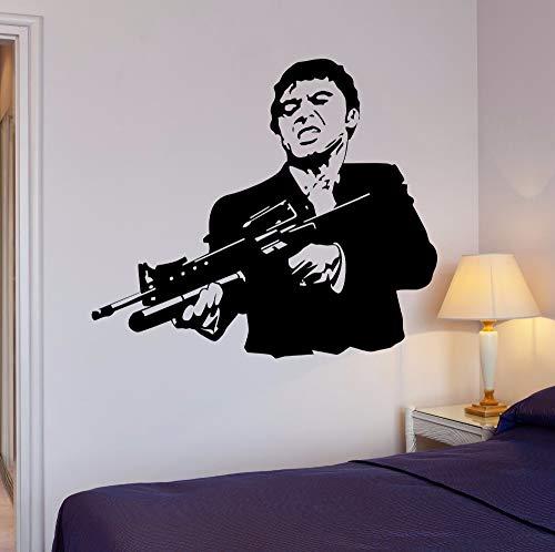 Pegatinas pared Vinyl Scarface película gangster