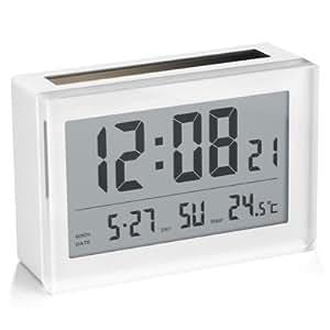 Addex AR840/W Horloge Calendrier Solaire Blanc