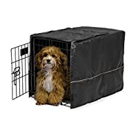 Midwest Black Polyester Crate Cover, Black, 22 Inches