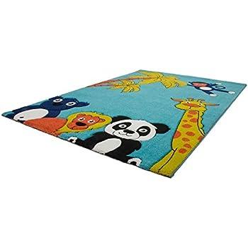 Hochwertiger Kinder Teppich Kinderteppich mit Tiermotiv / Teppich ...