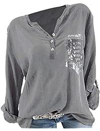 Damen Shirts Sweatshirts Pullover Tees Tops Oberteile Oversize Pulli Hoodie Elegant Hemden Langarm Blusen Tuniken, Herbst Mode Tasche gedruckt