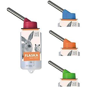 [Gesponsert]Kleintiertränke Nagertränke aus Kunststoff - FLASKA - 100 ml für Hamster & Gerbils
