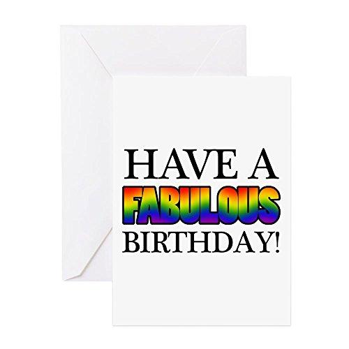 lous Gay Pride Geburtstag Grußkarte–Grußkarte, Note Karte mit Innen blanko,, Geburtstag Karte oder besonderen Anlass, merhfarbig, Note Card (Gay-pride-geburtstag)