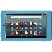 Nupro shock-proof case for Fire 7 tablet, Twilight Blue