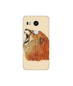 KolorEdge Printed Back Cover For LG Nexus 5X Multicolor - (8412-Ke10035Nexus5XSub)