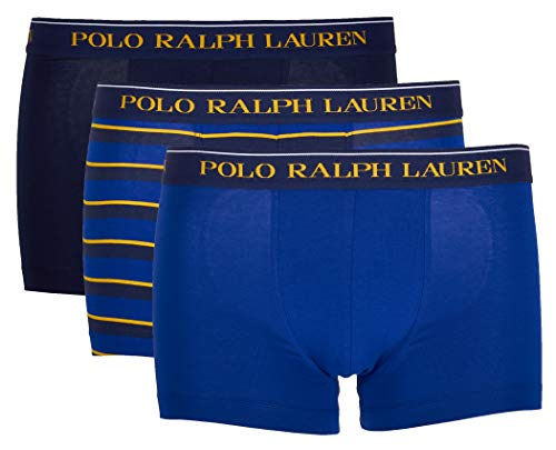 Polo Ralph Lauren 3 Pack Classic Trunk Stretch Cotton (L, Multi (038))