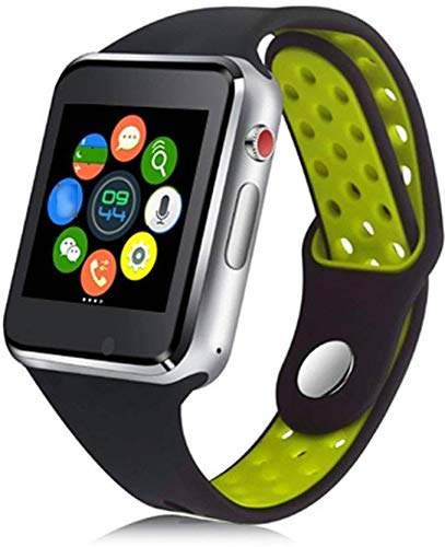 M3 Bluetooth Smart Watch for Men Women & Kids for All Android Smart Phones and Devices Sim Card Slot Microphone Support by WELLTECH