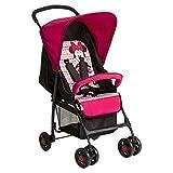 Hauck Sport Disney Buggy, mit Liegefunktion, klein zusammenfaltbar, für Kinder ab 0 Monate bis 15 kg, pink (Minnie Geo Rosa)