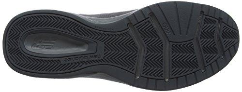 New Balance 624v4, Chaussures de Fitness Homme Gris (Gunmetal)