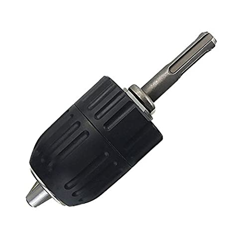 Yakamoz 2mm - 13mm Heavy Duty Keyless Drill Chuck Quick Release Conversion Tool with 1/2