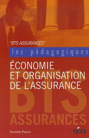 Economie et organisation de l'assurance