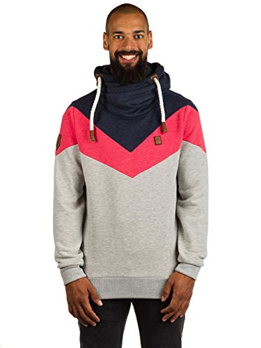 Naketano Male Hoody Kifferboarder V Grey Melange