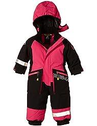 8848 Altitude Anzug Monte Dore Min Suit - Traje de esquí para niño, color (Pink (Cerise)), talla 110