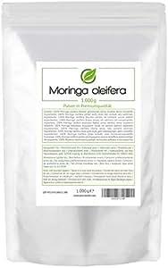Moringa (Moringa oleifera) 1.000 grammes (1kg) emballage