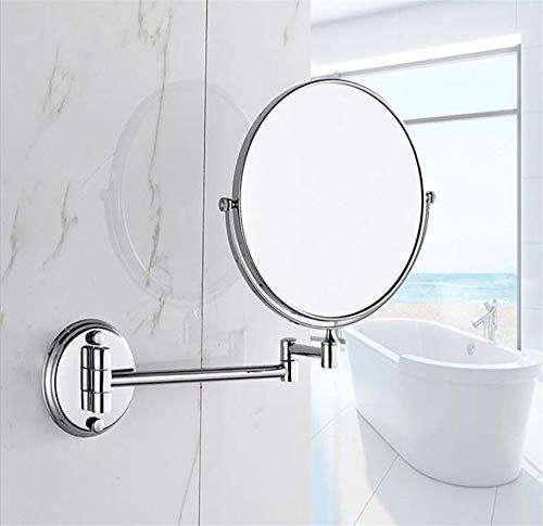 KIEYY Dauerhaft überzog Edelstahl-Badezimmer-Wand-Vergrößerungsspiegel Schönheit Spiegel...