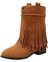 Amazon.es: Botas Cowboy Mujer Botas Zapatos para mujer