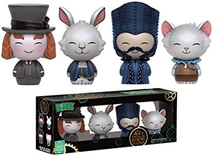 Funko - Figurine Disney - - - Alice Through The  ing Glass - 4-Pack Exclu Dorbz 8cm - 0849803089979 | Produits De Qualité