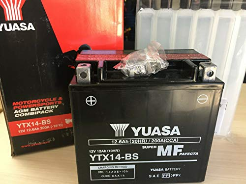 YUASA - BATTERIA YUASA YTX14-BS Triumph Speed Triple 955 I 2002 - 2005