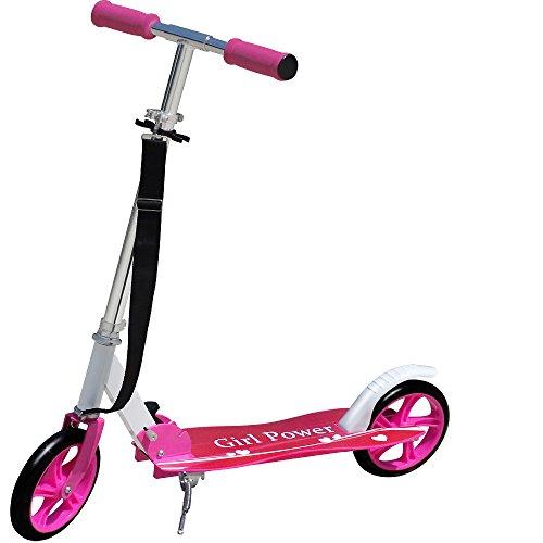 Monopattino Girl Power Scooter Monopattino per bambini Monopattino urbano Bambino 205mm pieghevole Tracolla