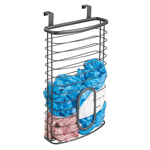 MDesign Organizador bolsas plásticas colgar puerta