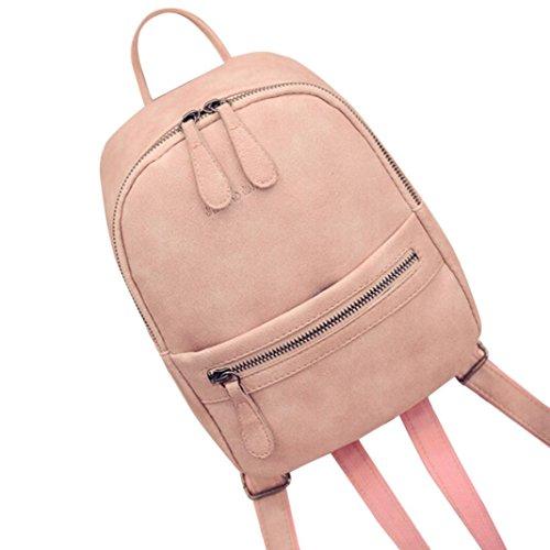YOUBan Damen Rucksack Frauen Mädchen Rucksäcke Schulter Bookbags Schulranzen Satchel Reise Leder Rucksack Handtasche Mini Tasche