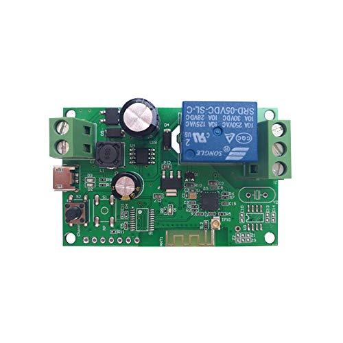 Sonoff Smart Wifi Schalter, DC 5V 12V 24V 32V Kabellos Relaismodul APP Fernbedienung Timer Schalter Kompatibel mit Amazon Alexa Google Home Smart Relais