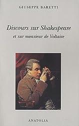 Discours sur Shakerpeare et sur monsieur de Voltaire (1777)