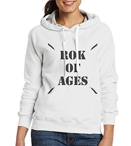 XYYtshirt Rok of Ages Logo Custom Pullover Hoodie