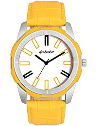 Armbandsur Analog yellow Watch-ABS0028MYW