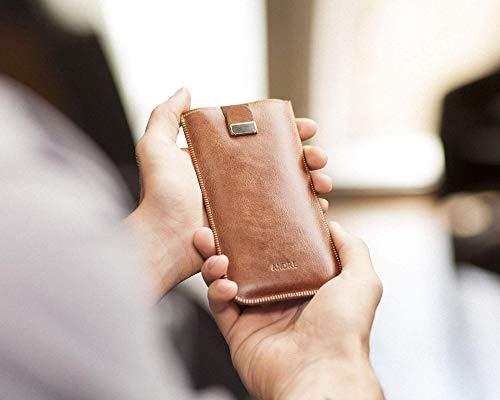Italienisches Leder Tasche für Huawei Mate - verschiedene Größe