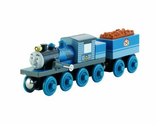 Preisvergleich Produktbild Mattel Fisher-Price Y4380 - Thomas und seine Freunde Holzlokomotive Ferdinand, groß