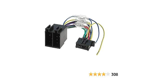 Techexpert Iso Kabel Für Pioneer 16 Polig Avh Mvh Serien Auto