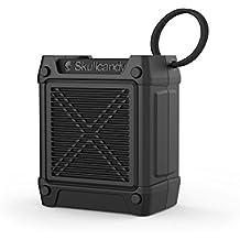 Skullcandy Shrapnel - Altavoz portátil (recargable, con Bluetooth, resistente a los golpes y a la humedad) color negro