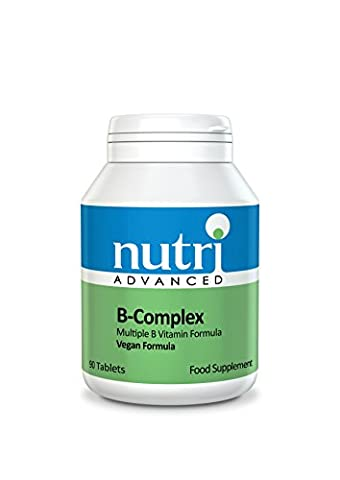 Vitamin B Complex Supplement - High Strength 90 Tablets - by Nutri Advanced