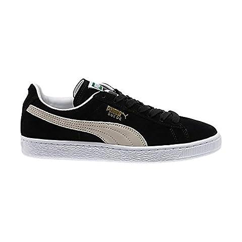 Puma Suede Classic+, Sneakers Basses homme, noir/blanc