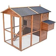 Alices Garden - Gallinero de madera COTENTINE, de 6 a 8 gallinas - Contentine