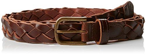 New look leather woven, cintura uomo, brown (tan 18), (taglia produttore:large-x-large)