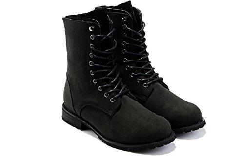 Automne Et Hiver Chaussures Pour Hommes Aide éLevéE De Plein Air Mouvement Loisir Chaussures Bottes De Martin Chaussures De MaréE Black