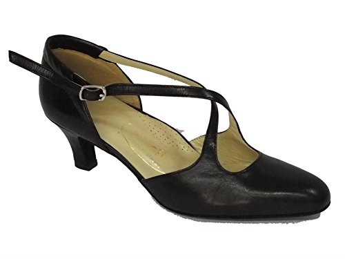 Vitiello Dance Shoes  Cuccarini nero 50R, Chaussons de danse pour femme Noir Nero Noir - Nero