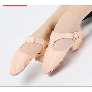 Silence @ pour femme Chaussures de danse Jazz Paillettes scintillantes Talon Plat Argenté/doré noir
