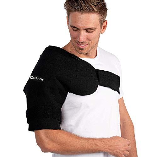 Kühlpads Gel Kalt Warm Kompresse Schulter Wiederverwendbar Mikrowellen Gel Ice Cold Pack & Wrap for Shoulder ()