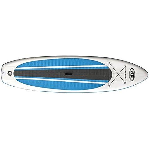 Ninety Sixty Stand Up Remo Board ISUP Sup Allround, color azul/blanco, 10pulgadas/6pulgadas,