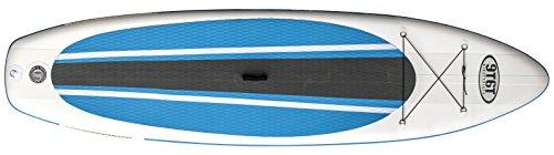 NINETYSIXTY Sup / Allround 10'6 Blau Stand Up Paddel Board (Isup), Ozeanblau/Weiß, 10/6 Zoll