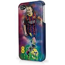 Barcelona iPhone 5/5s Iniesta Hard Phone Case - Multi-Colour by Barcelona F.C.