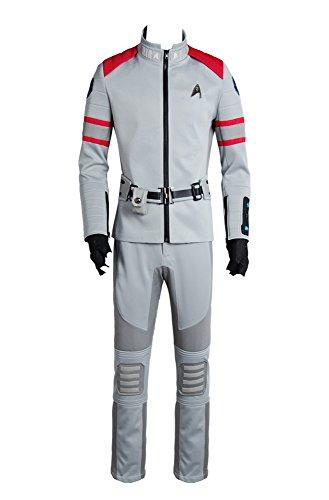 Star Trek Beyond Cosplay Kostüm Spock Kirk Yorktown Anzug Outfit Service Uniformen Herren XXXL (Spock Outfit)