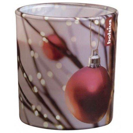 Bolsius - Llena duftglas Navidad, Las Bolas del árbol de Navidad