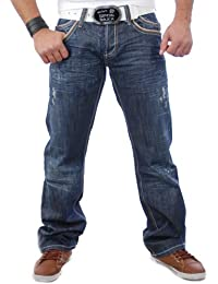 Cipo&Baxx Herren Jeans Hose C-661 D-Blau