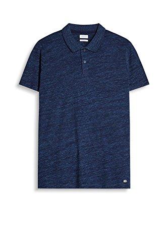 ESPRIT Herren Poloshirt 067ee2k010 Blau (Navy 400)